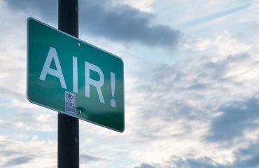 Протест против загадениот воздухпред Владата