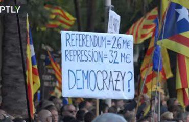 Илјадници луѓе на протести во Барселона