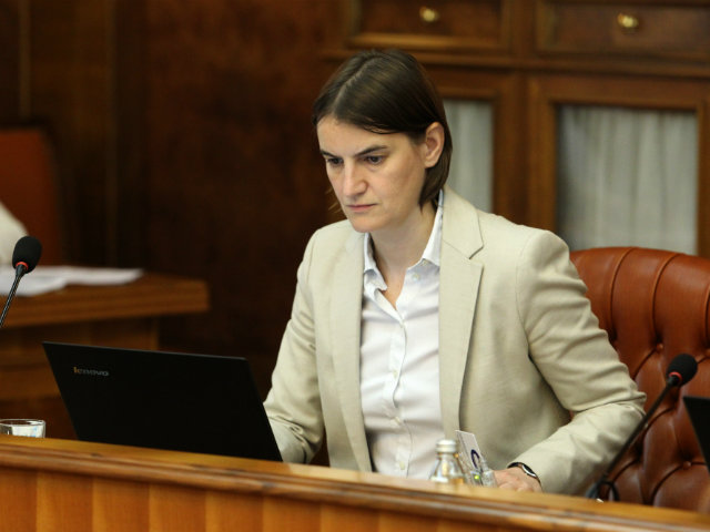 """Brnabic """"disappointed"""" over Croatia's move against Vulin"""
