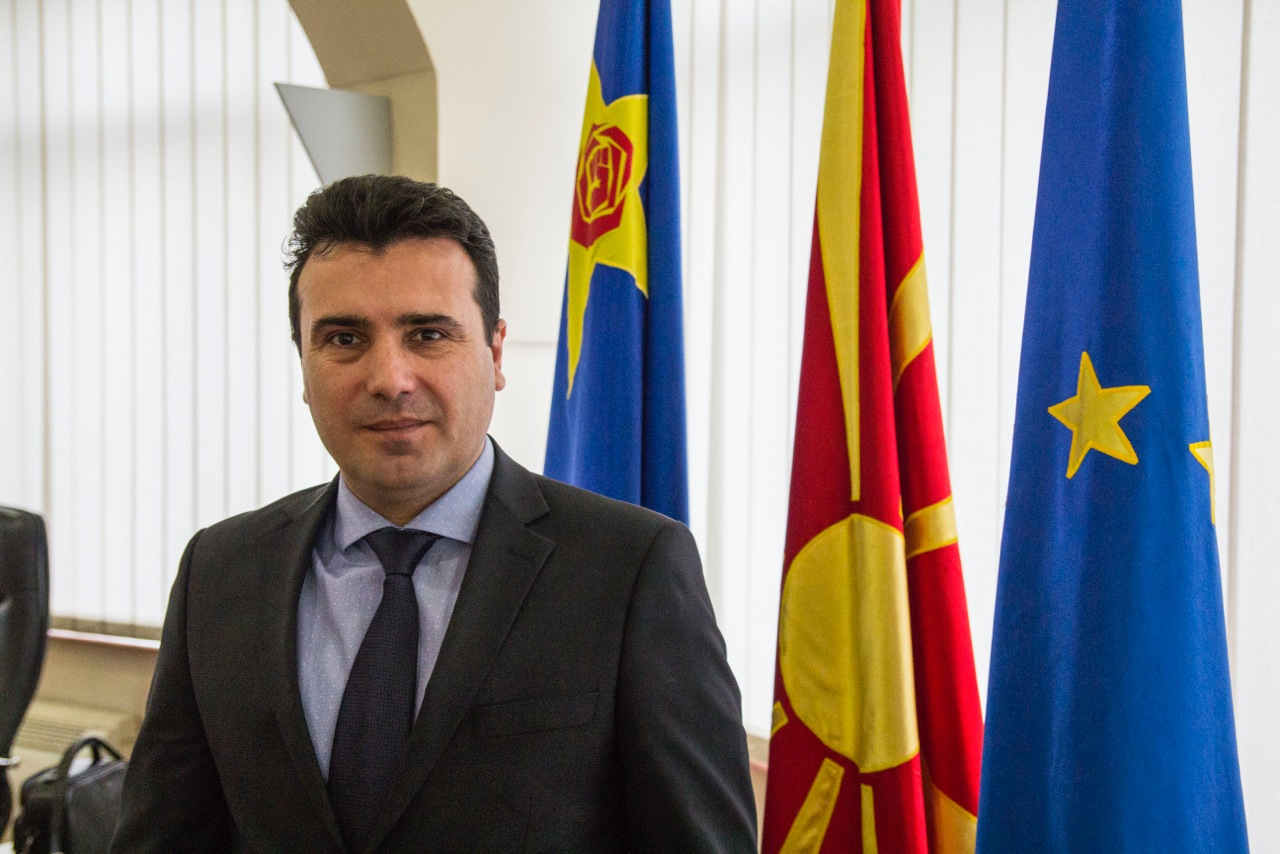 PM Zaev meets EU top officials in Brussels