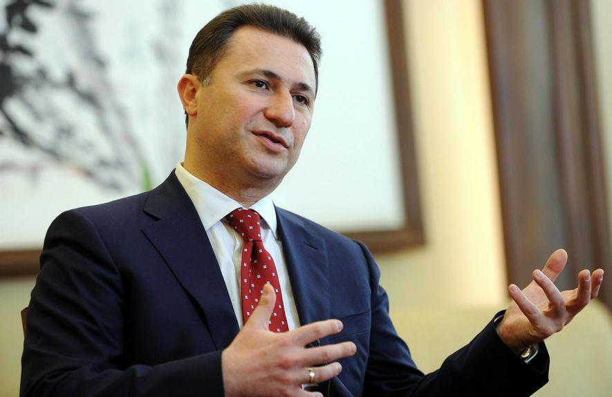 Груевски  Мицкоски не ме консултира  самостојно ја води партијата