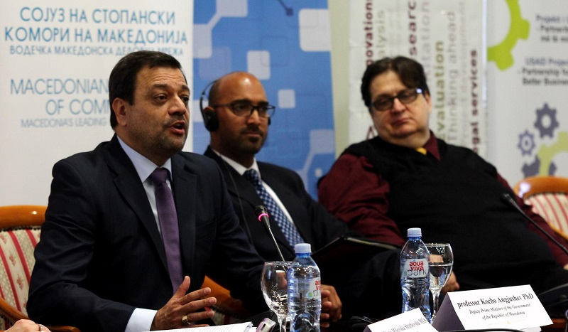 Deputy PM Angjusev: If export rises, GDP rises, too