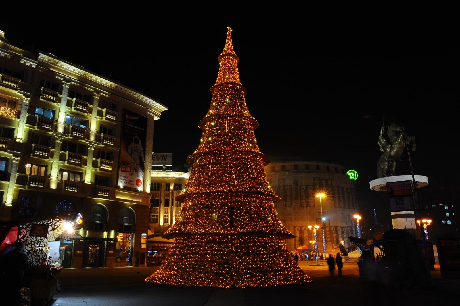 Macedonia welcomes New Year