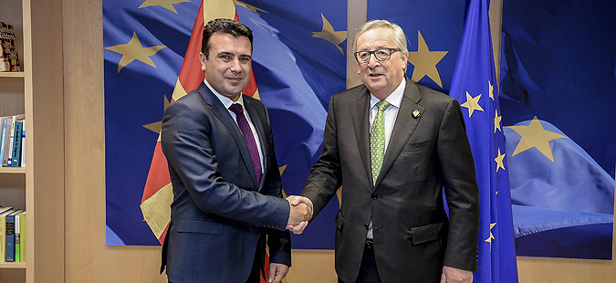Zaev-Juncker meeting: I expect Macedonia to become part of the EU's enlargement strategy