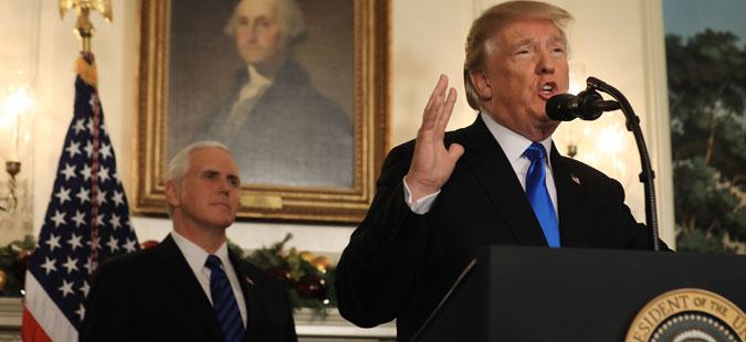 Трамп го призна Ерусалим за престолнина на Израел