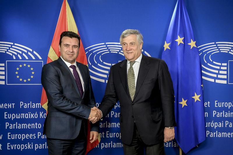 Zaev-Tajani: Reforms in Macedonia yield visible results