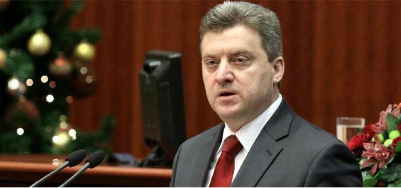 President Ivanov vetoes language bill