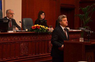 """Иванов стави """"вето"""" на Законот за јазици"""