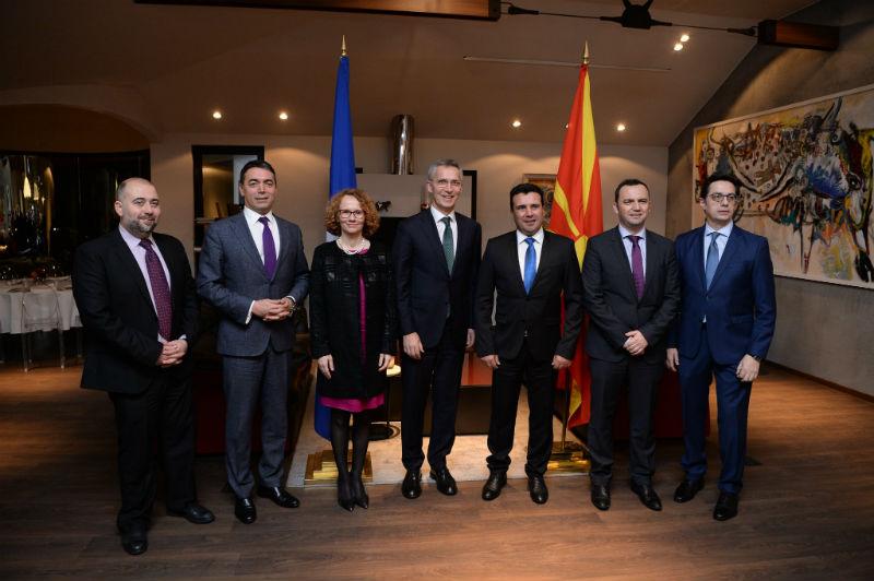 NATO Secretary General Stoltenberg to meet top officials