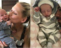 Еден месец родителство: Енрике и Ана ги покажаа близнаците