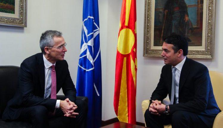 Dimitrov-Stoltenberg: Të shfrytëzohet momentumi pozitiv për aspiratat euro-atlantike të Maqedonisë