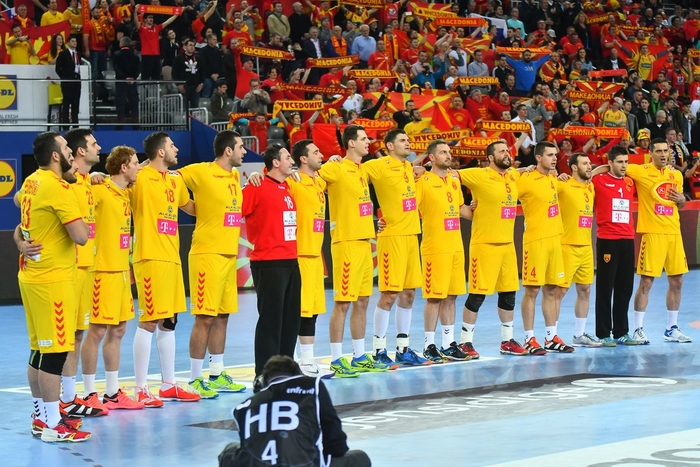 Victory against Montenegro propels Macedonia to second EHF EURO stage