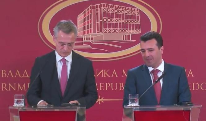 Stoltenberg: Name dispute settlement crucial for Macedonia's NATO membership, no plan 'B'