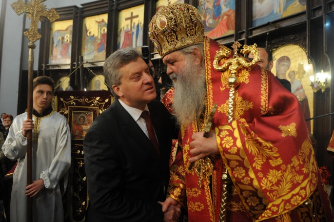 President Ivanov a no-show at HH Stefan's Christmas dinner for Macedonia's leadership