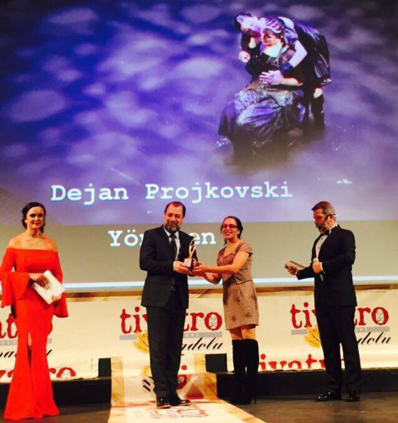 Projkovski's Romeo and Juliet voted the best play of 2017 in Turkey