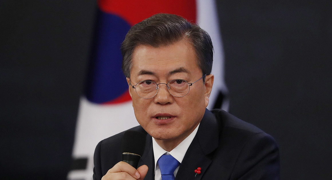 South Korean president says he's open to meeting with Kim Jong Un
