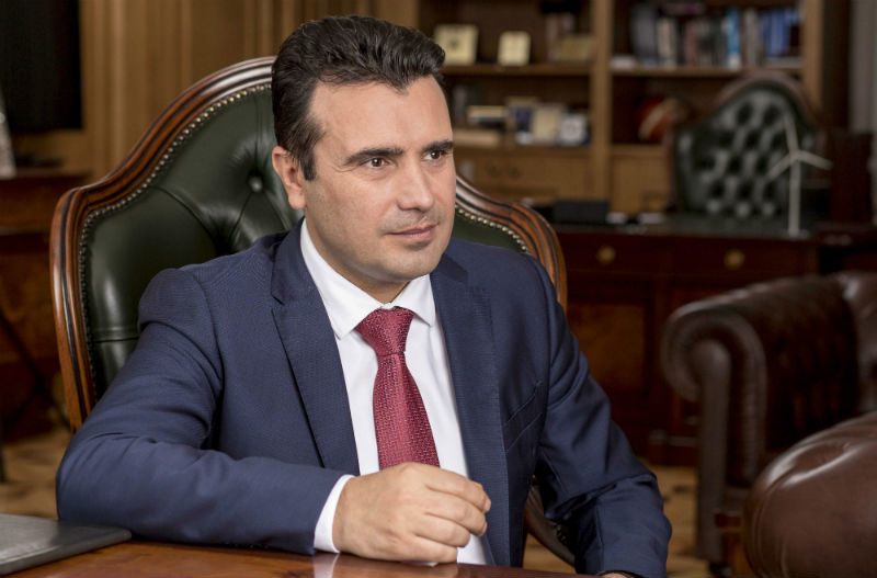 Zaev: The name dispute will be closed in the first half of 2018