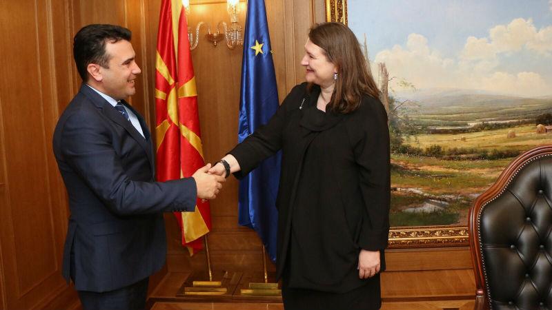 Zaev-Csaba: Canada supports Macedonia's NATO integration