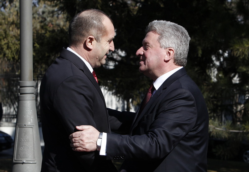 Macedonian, Bulgarian Presidents urge their countries to advance overall cooperation