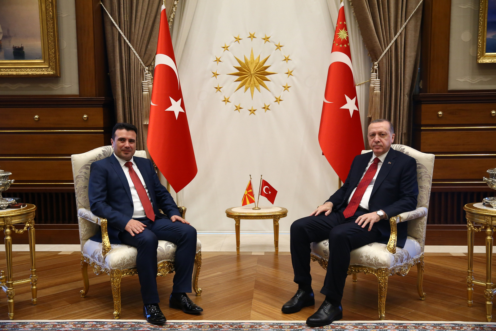 Zaev-Erdogan: Support for settling the name dispute with Greece, more intensive economic cooperation