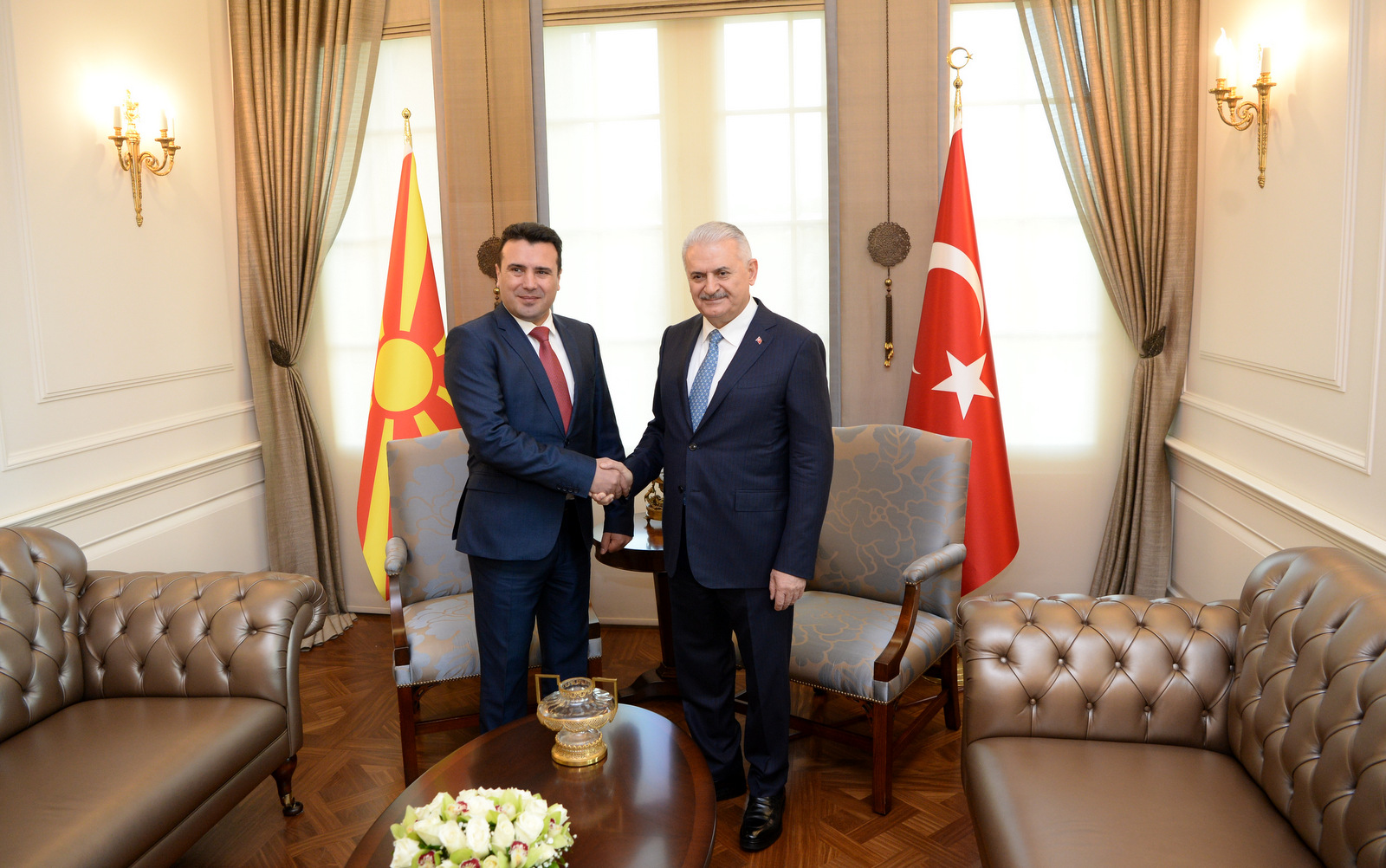 Zaev-Yildirim: Turkey supports Macedonia for NATO membership, bilateral cooperation to be promoted