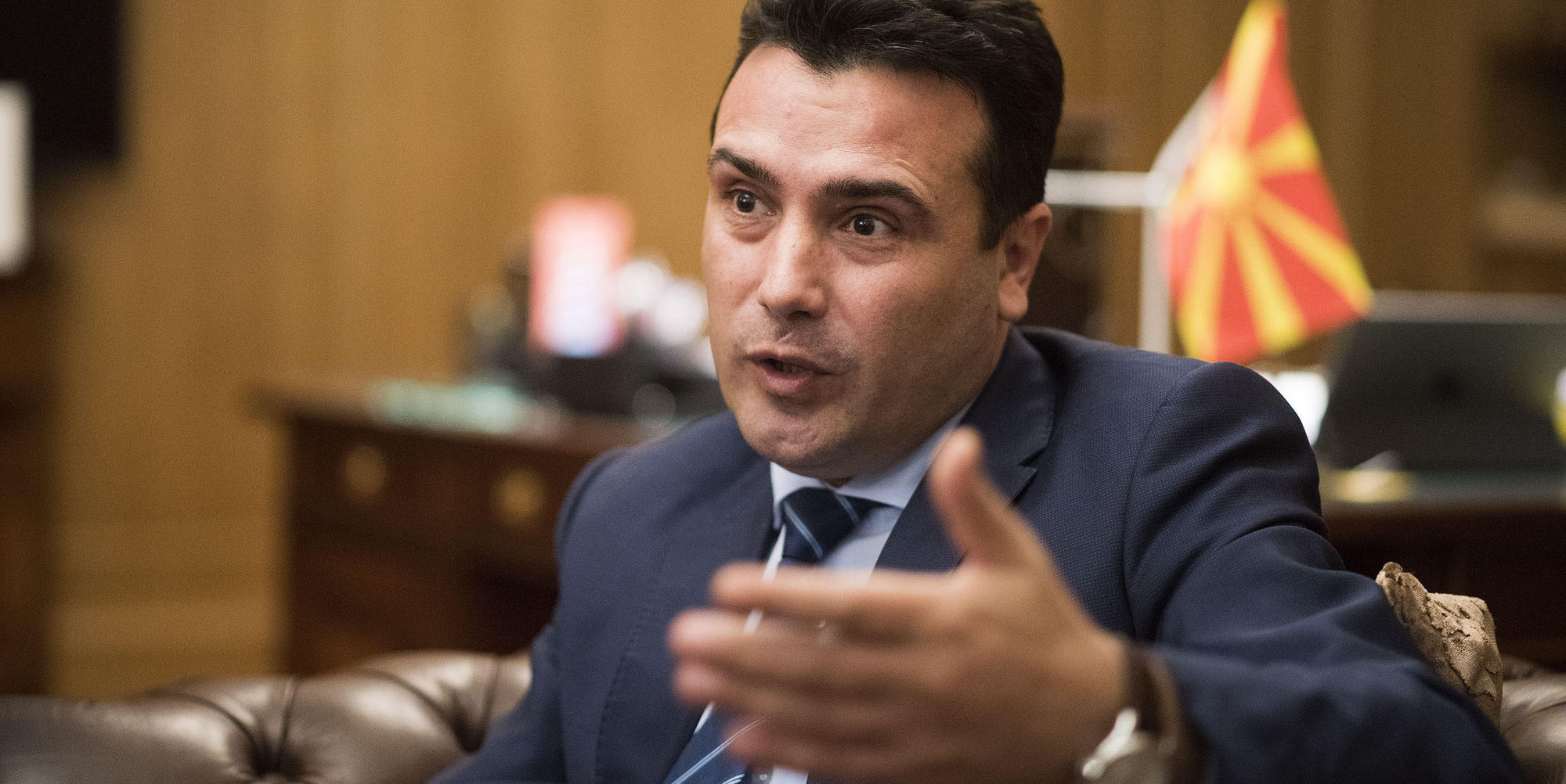 Zaev: Step closer to name solution with Kotzias' visit and meeting with Nimetz