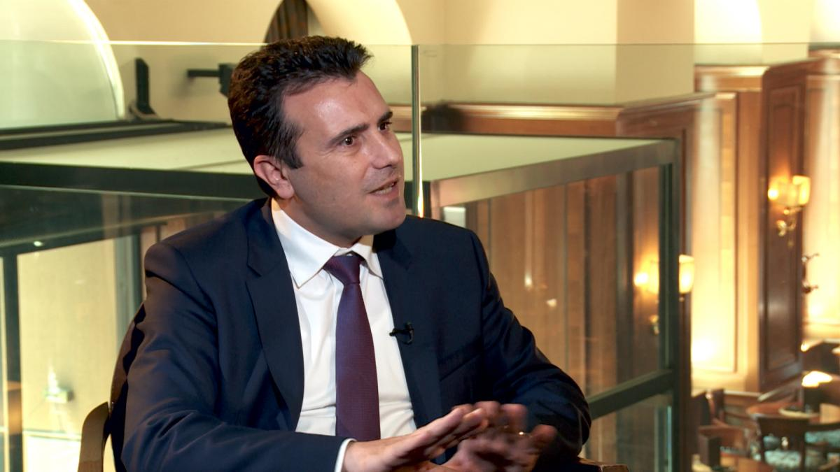 PM Zaev: Macedonia and Greece will find 'dignified' name solution
