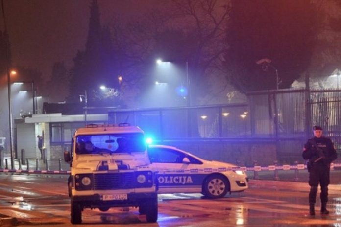 Explosive device thrown at U.S. embassy building in Montenegro