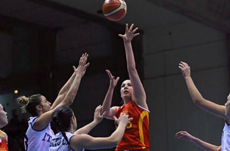Фијаско од  минус 60  на македонските кошаркарки во Италија