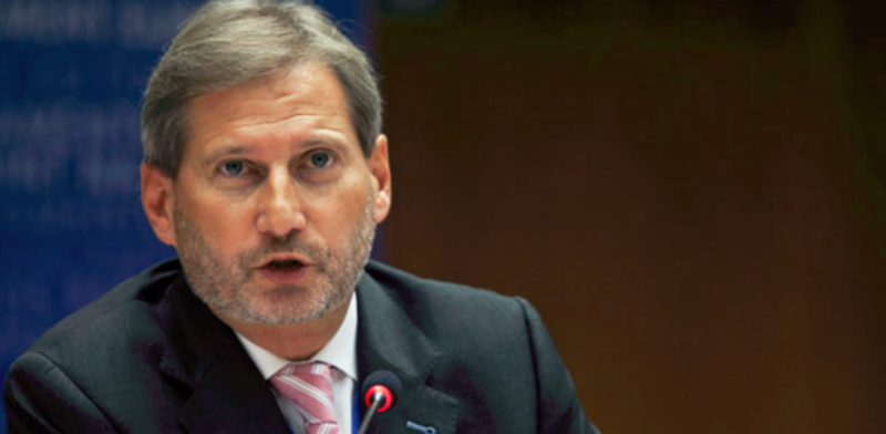 Hahn: EU to back starting entry talks with Macedonia