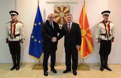 President Ivanov meets with EC President Juncker