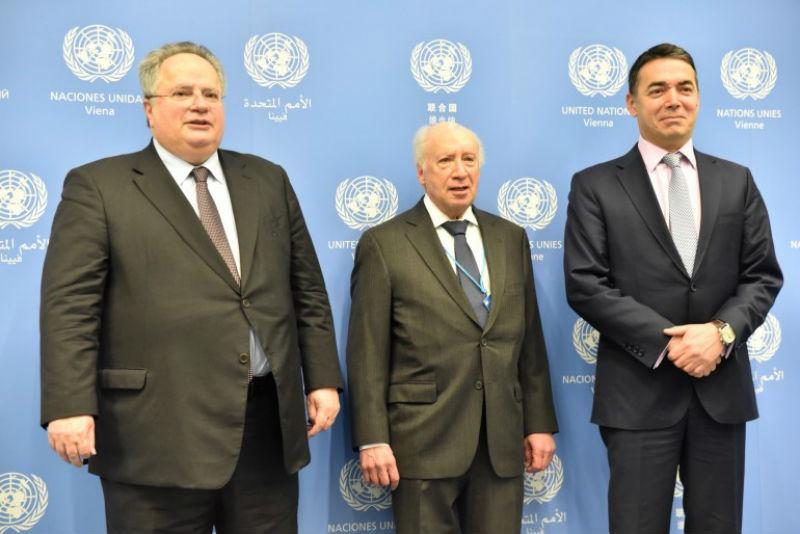 Средба на  тројката  во Виена  ќе продолжат напорите под покровителство на ОН