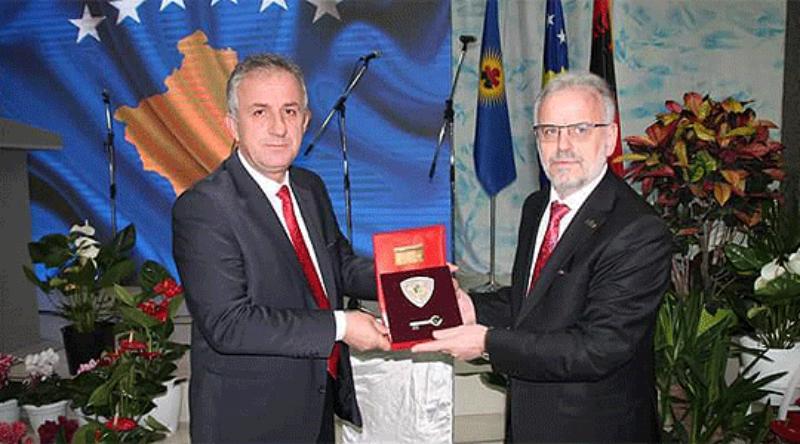 Speaker Xhaferi attends Kosovo independence celebration