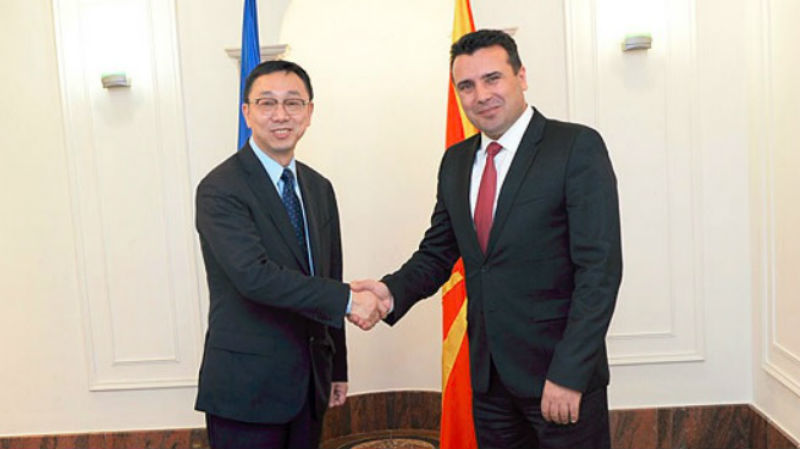 Zaev-Zhang: Macedonia's economy moving in the right direction