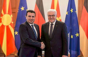 Штајнмаер: Решение на спорот со Грција ќе даде поз