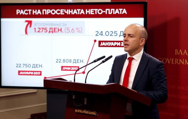 Tevdovski: EU integration progress to boost economic growth