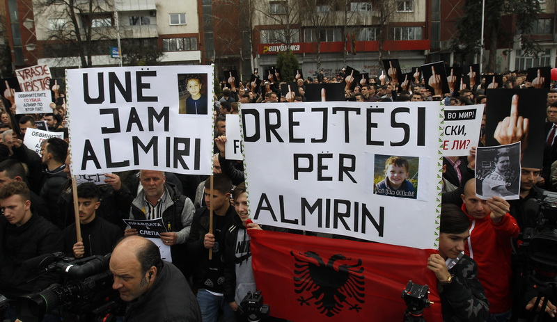 DUI demands formation of a working group for the 'Almir' case