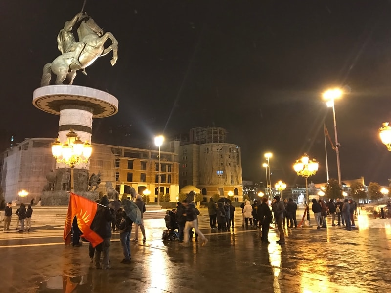 Fake news about removal of Alexander the Great statue from main Skopje Square