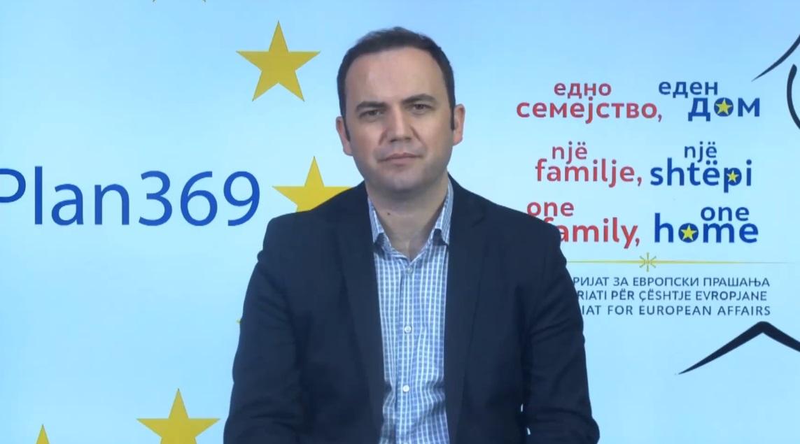 Osmani: Failure to obtain start date for EU accession talks may affect name deal