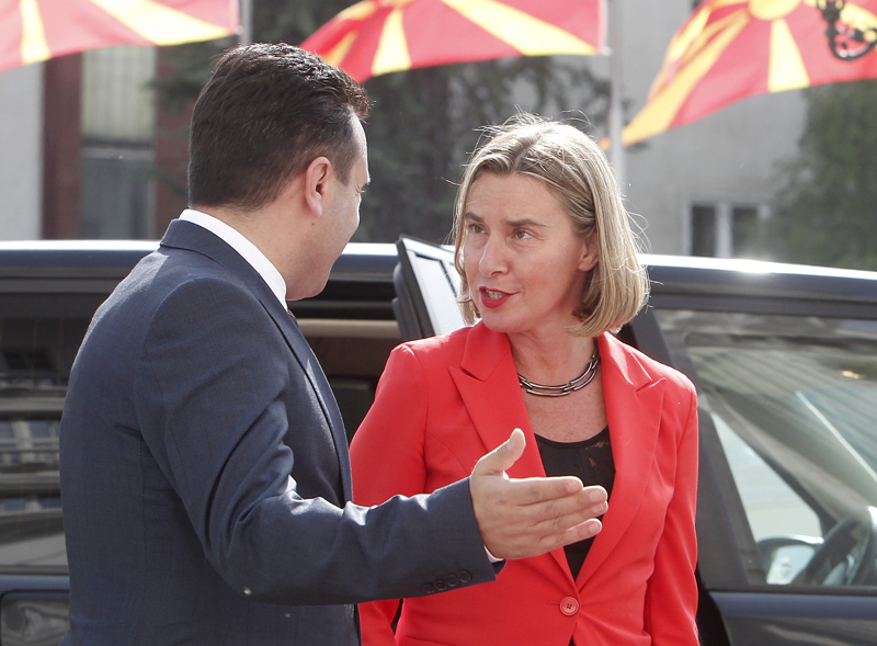 Mogherini: Macedonia back on the right track