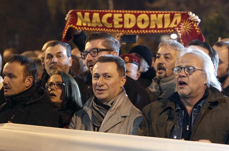 Godet VMRO DPMNE paralajmëron protestë të fuqishme kundër Zaevit