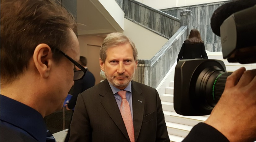 Commissioner Hahn welcomes VMRO-DPMNE's EU integration role