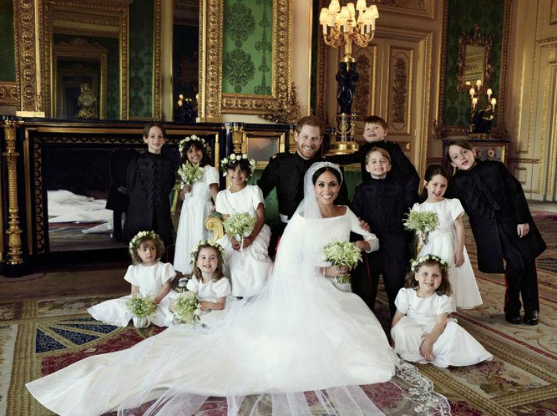 Официјални фотографии  од свадбата на Хари и Меган: Тоа е љубов