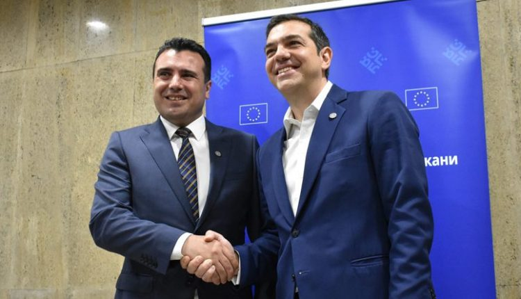 Telephone conversation between Zaev and Tsipras after Kotzias' resignation