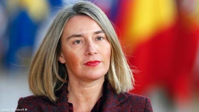 Mogherini raporton për të arriturat në bisedimet Maqedoni Greqi