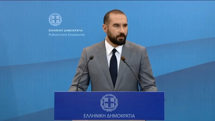 Tzanakopoulos: Name agreement will pass in the Greek parliament, otherwise we would not have signed it