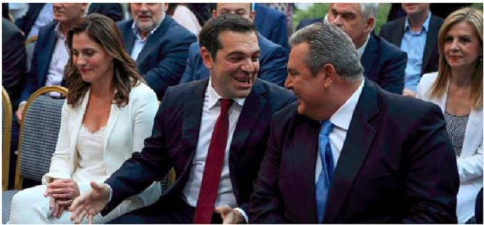 Secret meeting between Tsipras and Kammenos