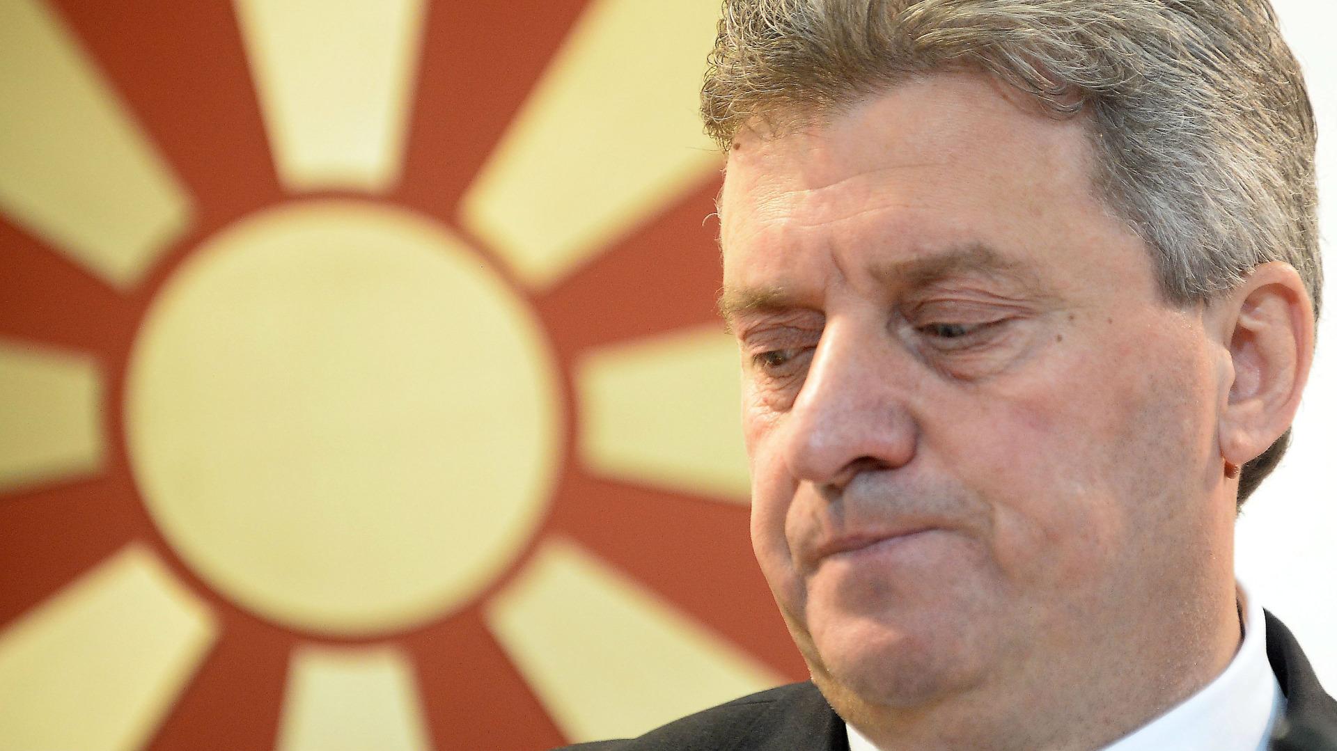 Ivanov nuk i nënshkroi ligjet për Antidiskriminim dhe për ATO