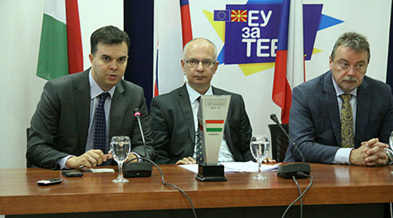 Visegrad Group: We expect Macedonia to start EU accession talks next week