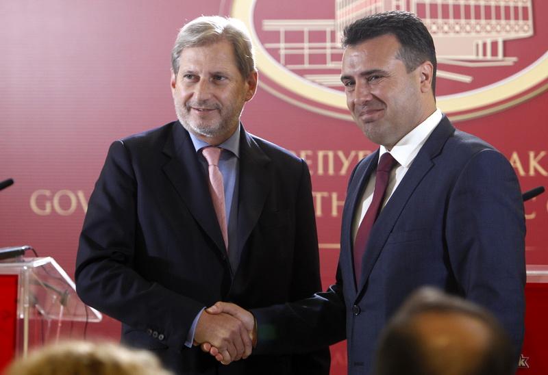Hahn: EU door is open, decision depends on you